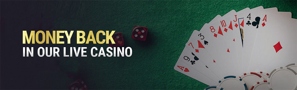 CASH BACK CASINO LIVE BONUS
